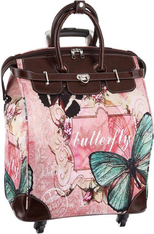 Absolutnie piękna torba na zakupy na kółkach