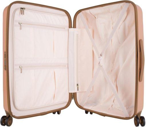 Niezwykle stylowa walizka na kółkach, 65 l