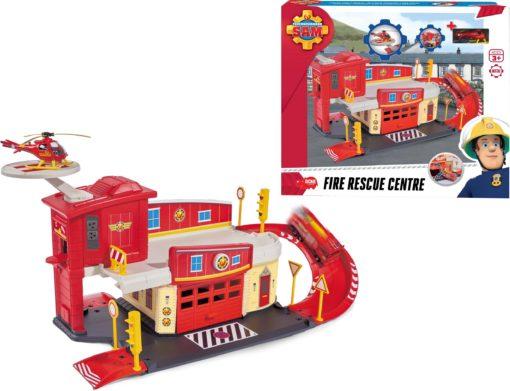 Fascynująca gra dla małych strażaków z helikopterem