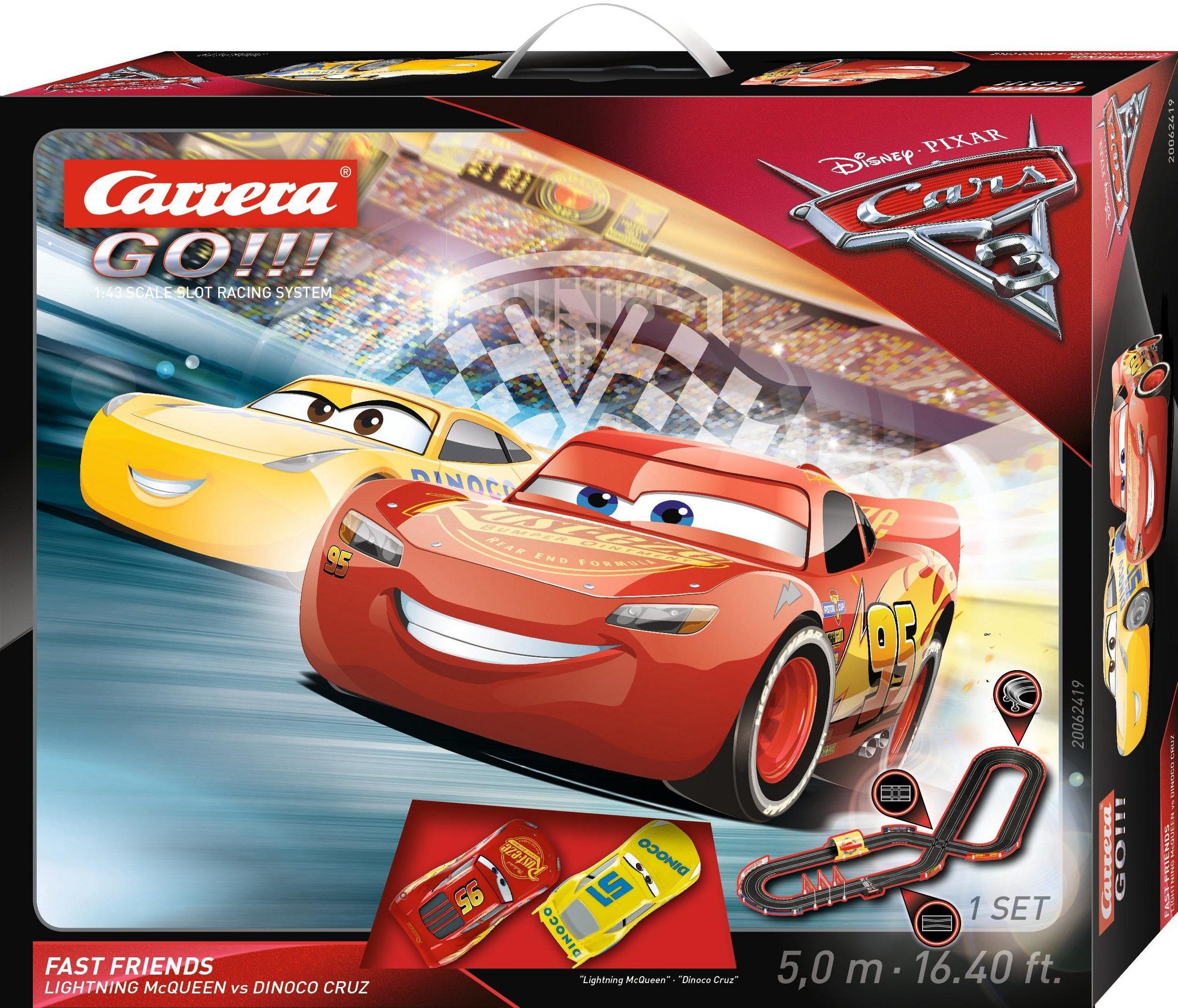 Chwalebne Rewelacyjny tor wyścigowy z bajki Auta, zygzak McQueen i Cruz KY47