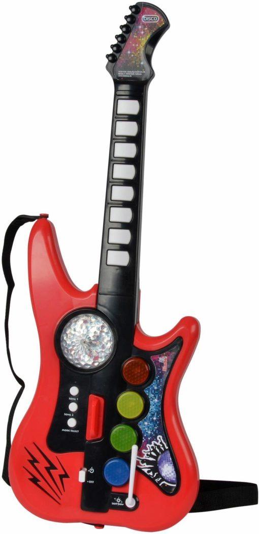 Odjazdowa dyskotekowa gitara dla dzieci