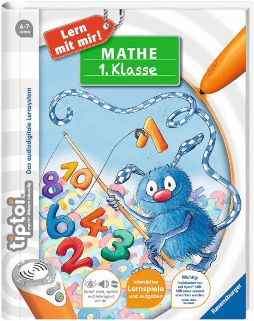 Edukacyjna książka do matematyki z serii Ravensburger