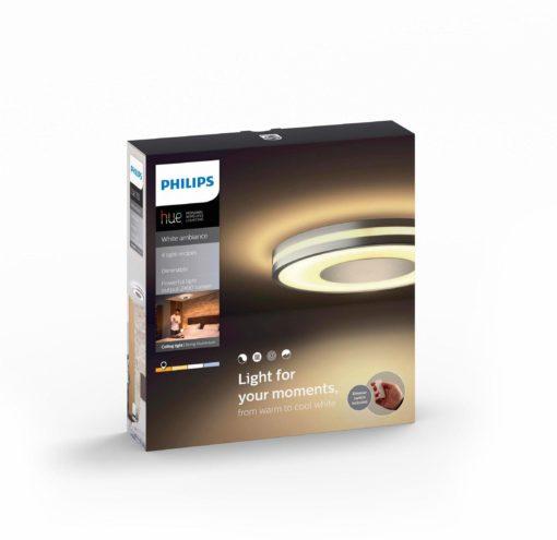 Nowoczesna lampa sufitowa LED marki Philips