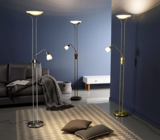 Modernistyczna stojąca lampa LED