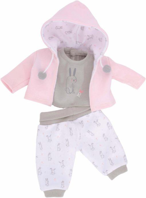 Urocze 3-częściowe ubranko dla lalki
