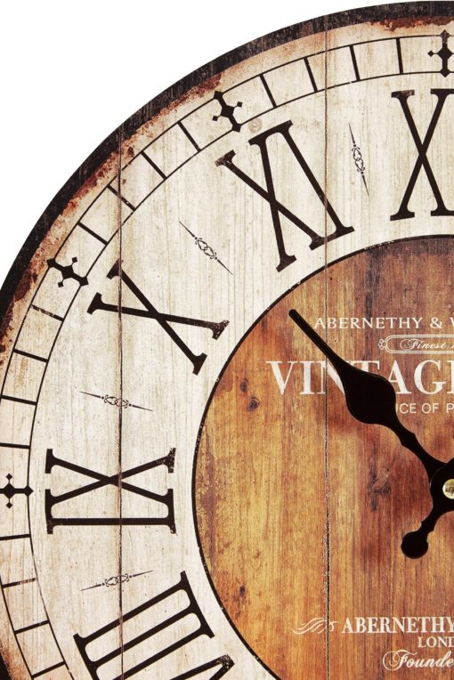 Zegar ścienny z duszą Vintage