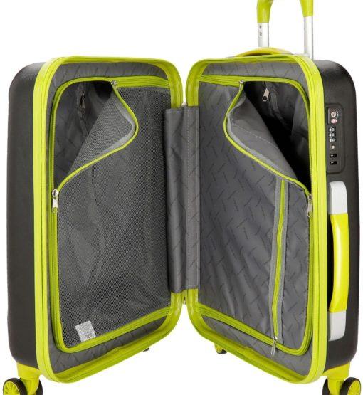 Stylowa walizka podróżna z 4 kółkami