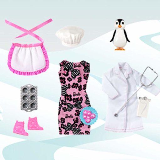 Kalendarz Barbie - lalka i akcesoria