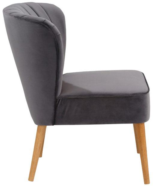 Stylowy fotel, rama i nogi z brzozy
