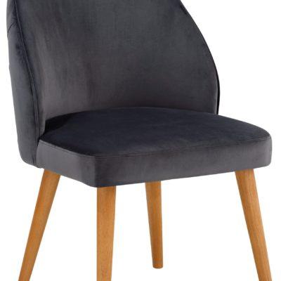 Atrakcyjny fotel z pięknie pikowanymi plecami