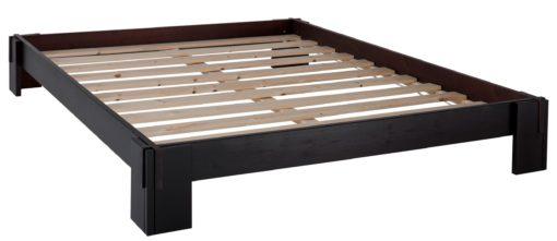 Minimalisyczne łóżko futon ze stelażem 140x200cm
