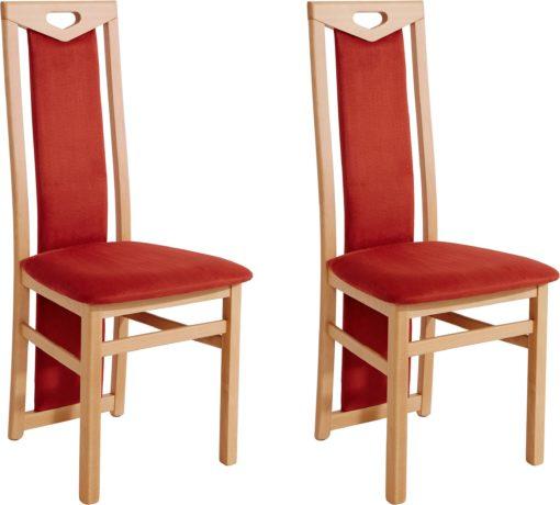 Dwa wygodne krzesła z wyjątkowymi plecami