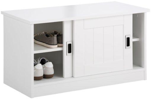Nowoczesna szafka na buty z przesuwnymi drzwiami
