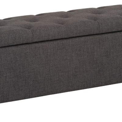 Tapicerowana ławka ze schowkiem i siedziskiem