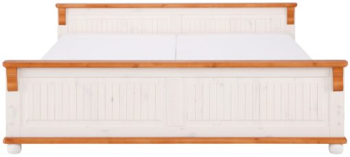 Urokliwe, drewniane łóżko 180x200 cm