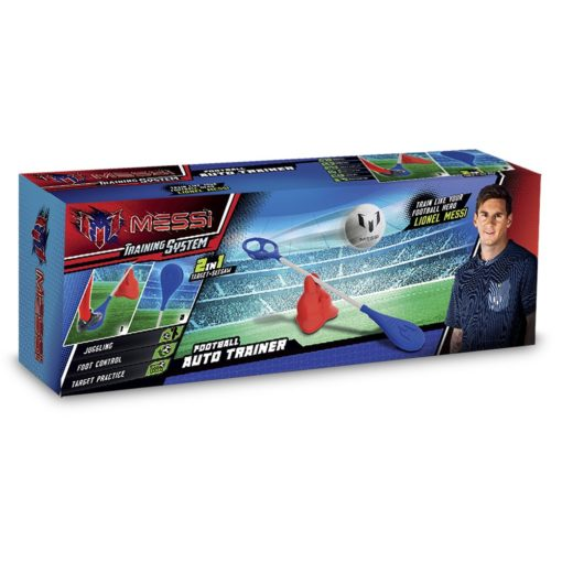 Wyrzutnia piłek: Messi auto trener