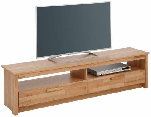 Szafka rtv w kolorze drewna bukowego 160 cm