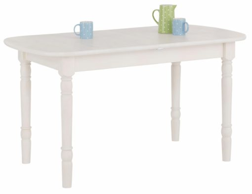 Piękny, rozkładany stół z toczonymi nogami