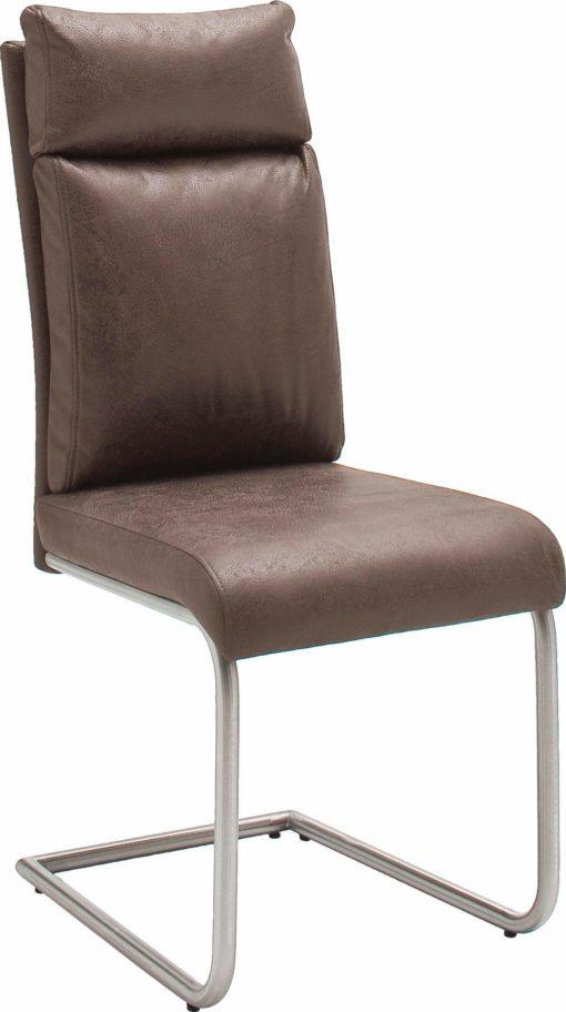 Zestaw dwóch nowoczesnych foteli na płozach