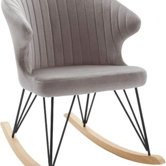 Magiczny fotel bujany z pikowanym oparciem