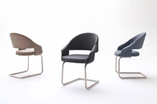 Nowoczesne, bujane krzesło jak fotel