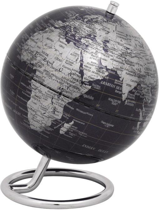 Unikalny mini globus na eleganckiej stopie