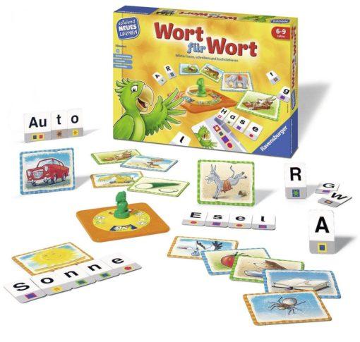 """Ciekawa gra edukacyjna """"Słowo w słowo"""" Ravensburger"""