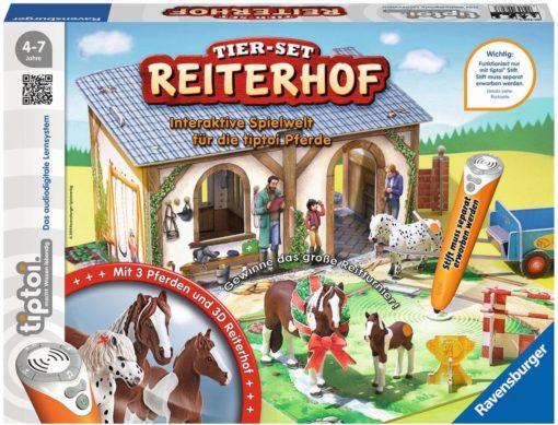 Interesująca gra edukacyjna dla fanów koni Rawensburger