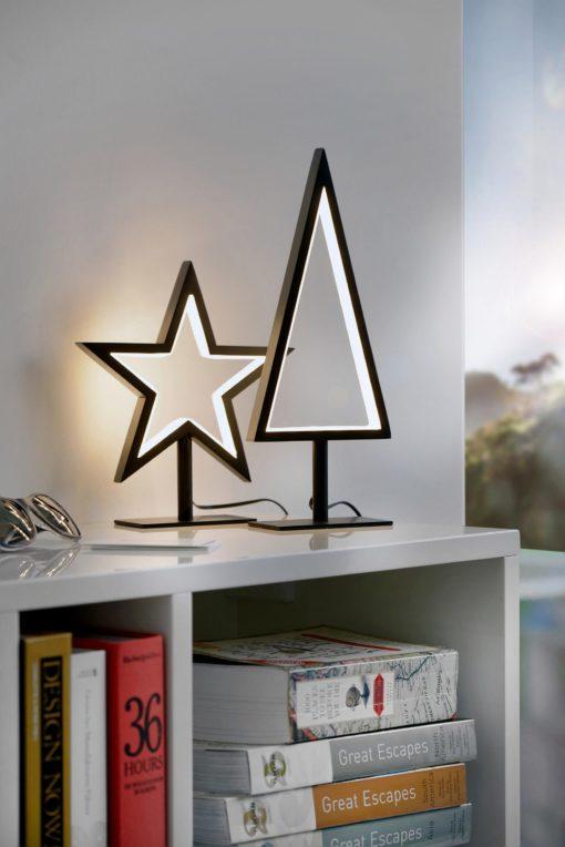 Przepiękna i stylowa lampka LED w kształcie gwiazdy