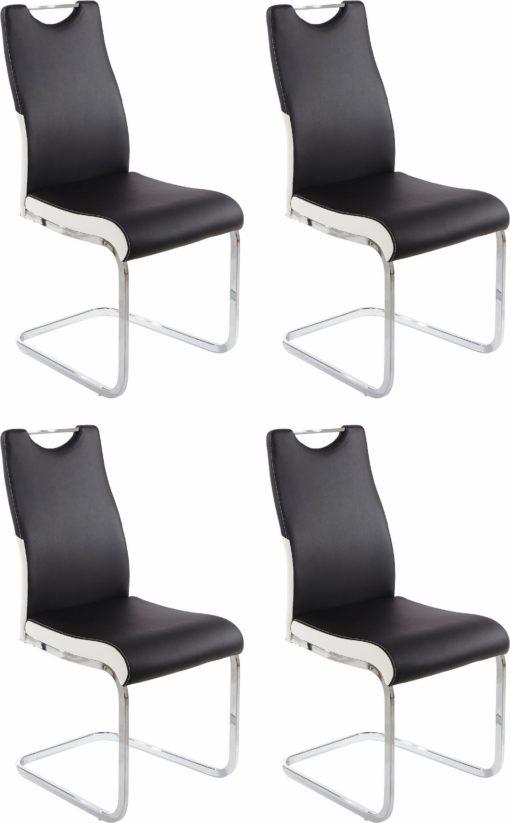 Eleganckie krzesło konferencyjne - 4 sztuki