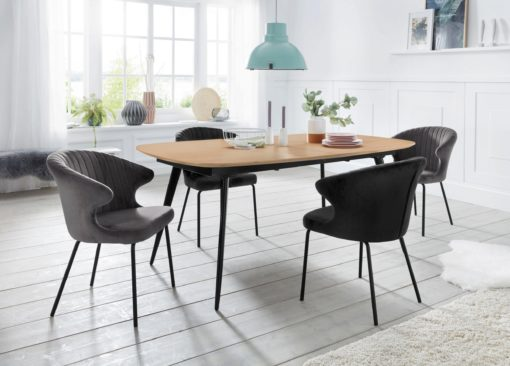 Nowoczesne i stylowe krzesło z siedziskiem w formie fotela