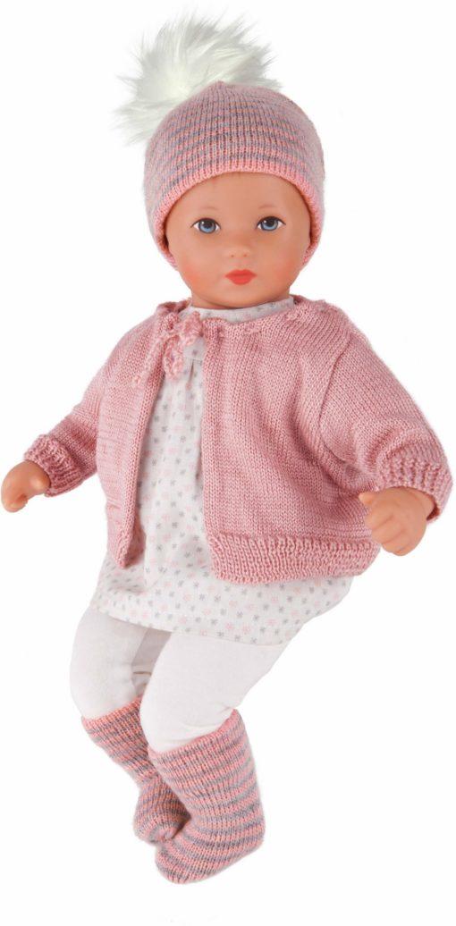 Słodka laleczka do zabawy w ubranku na spacer