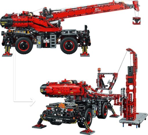 LEGO TECHNIC Raugh Terrain Crane, 4057 części