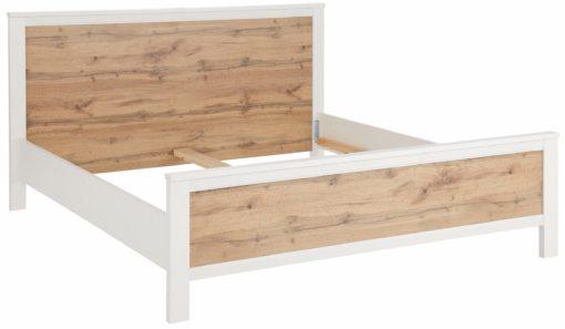 Nowoczesna, prosta rama łóżka 200x200 cm