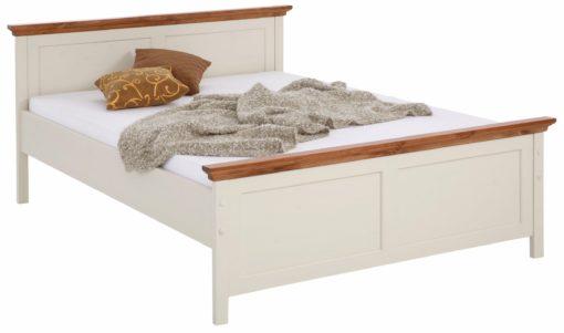 Rustykalne, sosnowe łóżko 140x200 cm