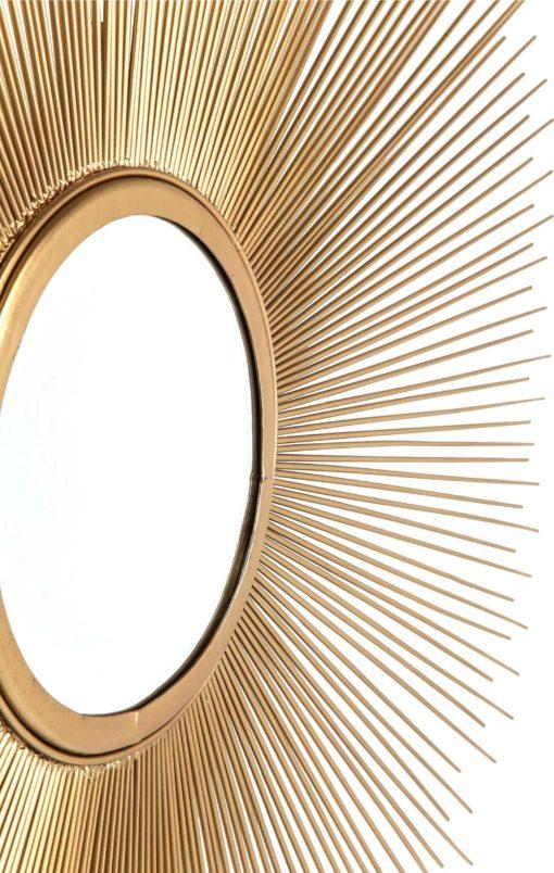 Designerskie lustro powiększające przestrzeń pomieszczenia