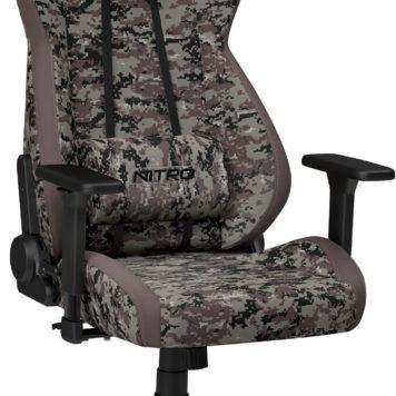 Unikatowy fotel gracza Nitro Concepts S300 Urban Camo