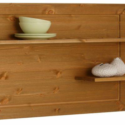 Półka z drewna jakości Premium o ekstrawaganckim designie