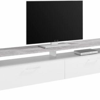 Bardzo nowoczesna szafka RTV z 5 półkami