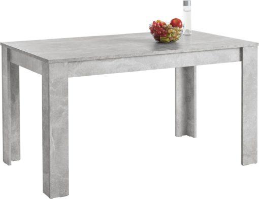 Niepowtarzalny i wyjątkowy stół w kolorze betonu