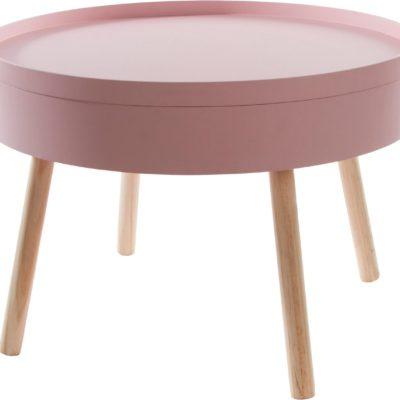 Uroczy stolik kawowy z miejscem na małe sekrety