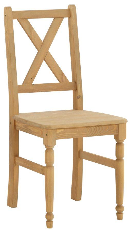Przepiękny sosnowy zestaw stół i 4 krzesła
