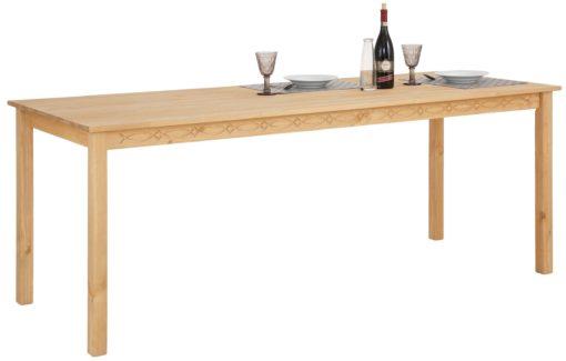 Ponadczasowy, sosnowy stół do jadalni 200 cm