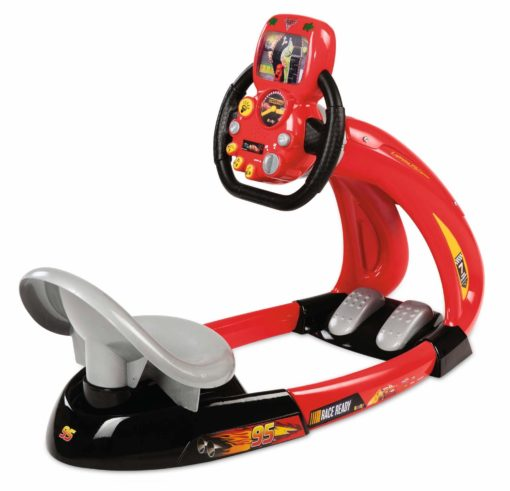 Superowy symulator wyścigowy dla dzieci