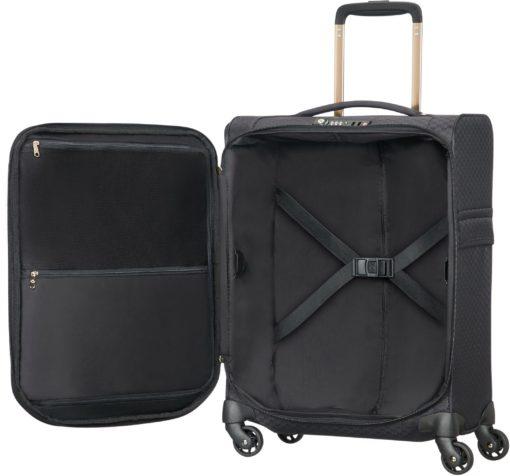Miękka i lekka walizka podróżna na zamki szyfrowane