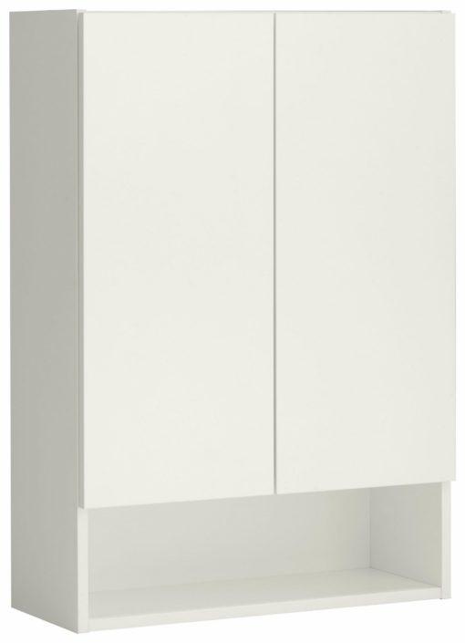 Praktyczna szafka wisząca, do łazienki lub kuchni
