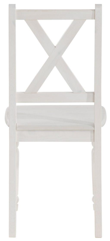 Przepiękne, sosnowe krzesła z toczonymi nogami - 2 sztuki