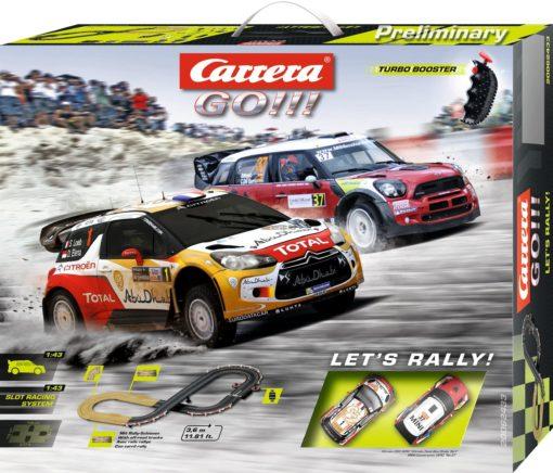 Niesamowity Tor wyścigowy Carrera® GO!!! Let's Rally!