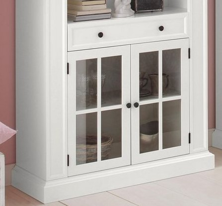 Zestaw przeszklone drzwi + szuflada