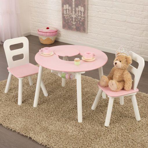 Zestaw mebli dla dzieci - stół i krzesełka